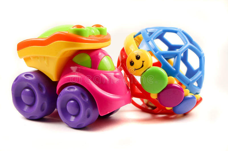 Children's toys. stock photo