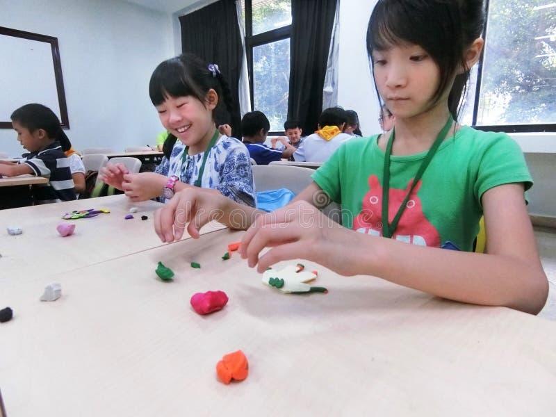 Children`s workshop stock photos
