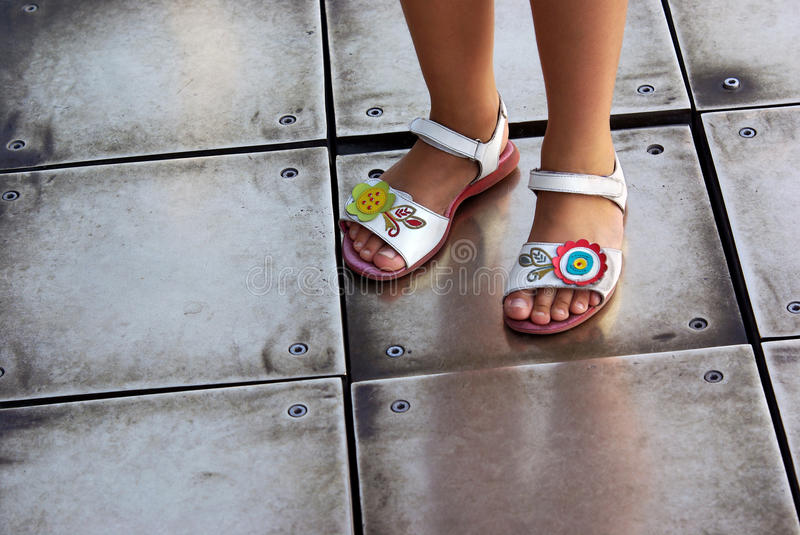 Download Children Sandals stock photo. Image of shoes, legs, girl - 11057108