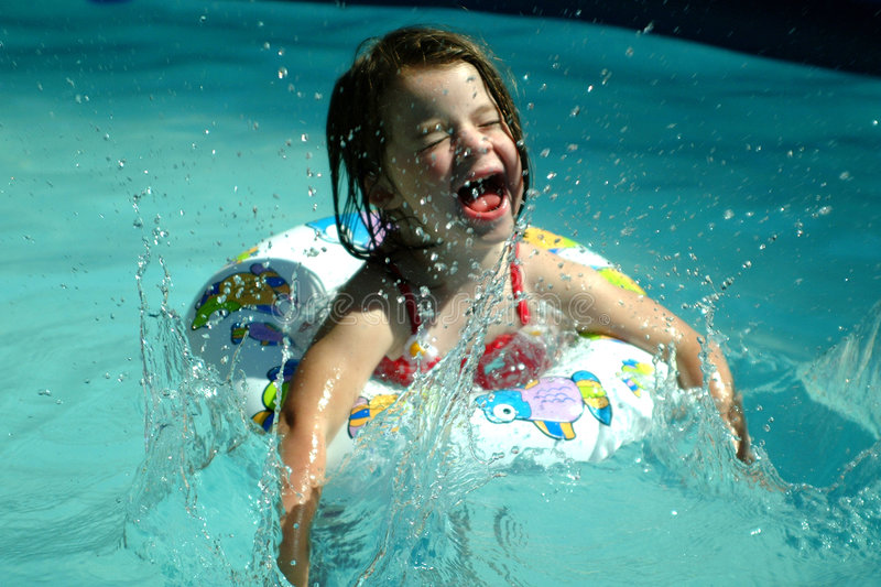 Download Children- Splashing Girl Stock Images - Image: 113434