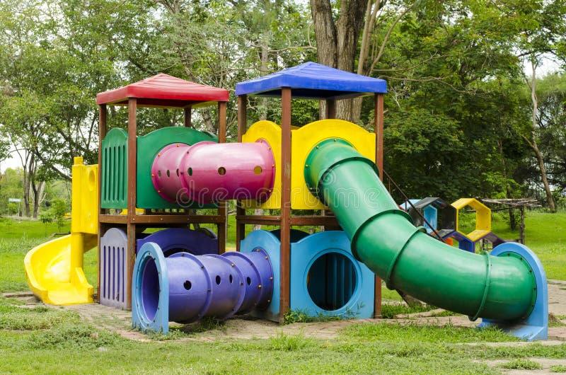 Download Children Stairs Slides Equipment Stock Image - Image: 33043419