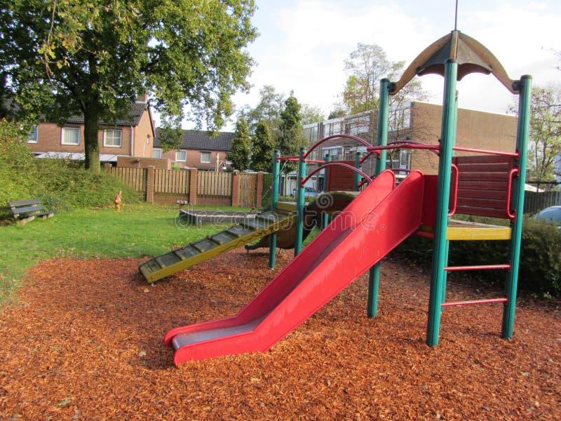 Children Stairs Slides equipment stock photos