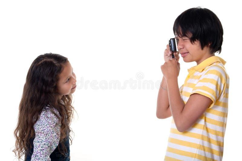 Download Children Take Photos Digital Royalty Free Stock Photography - Image: 16177517