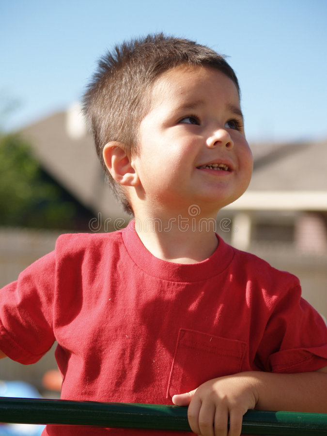 Children-Toddler Boy stock image