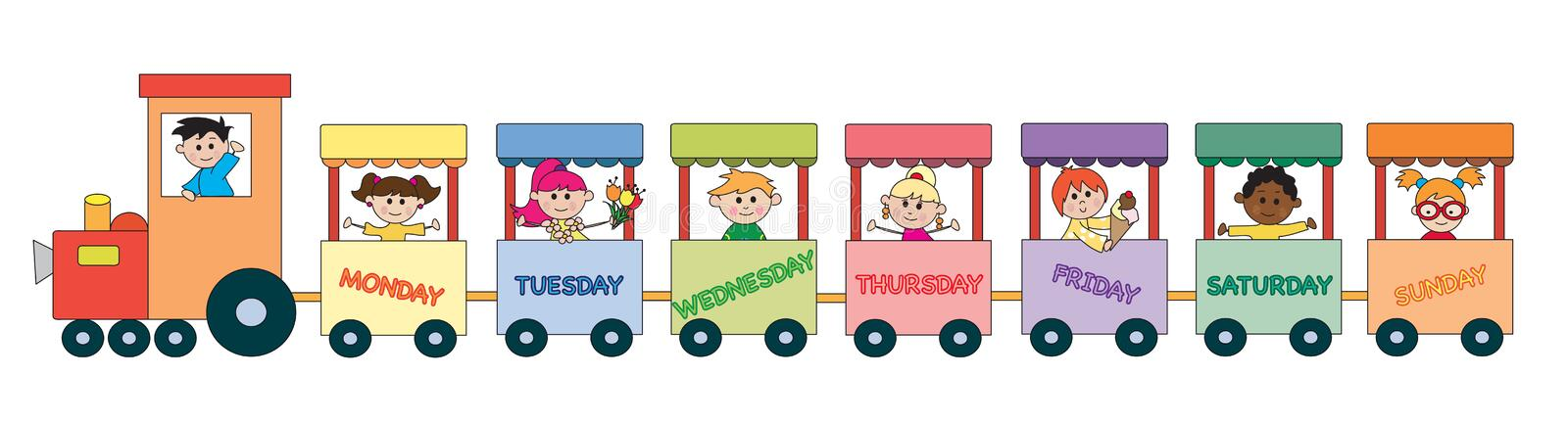 Day Week Stock Illustrations – 66,259 Day Week Stock Illustrations ...