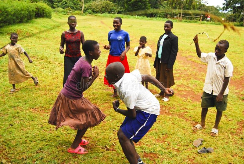 Children In Uganda Editorial Photography