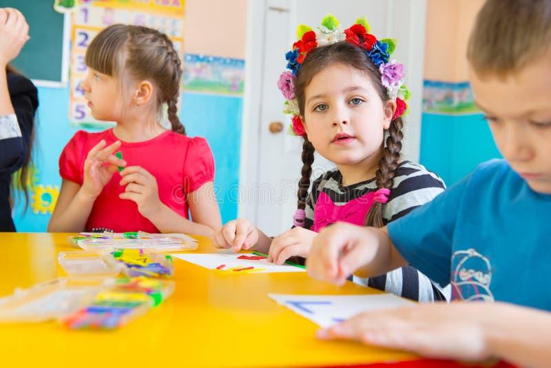Childrenats-Kindergarten stockbilder