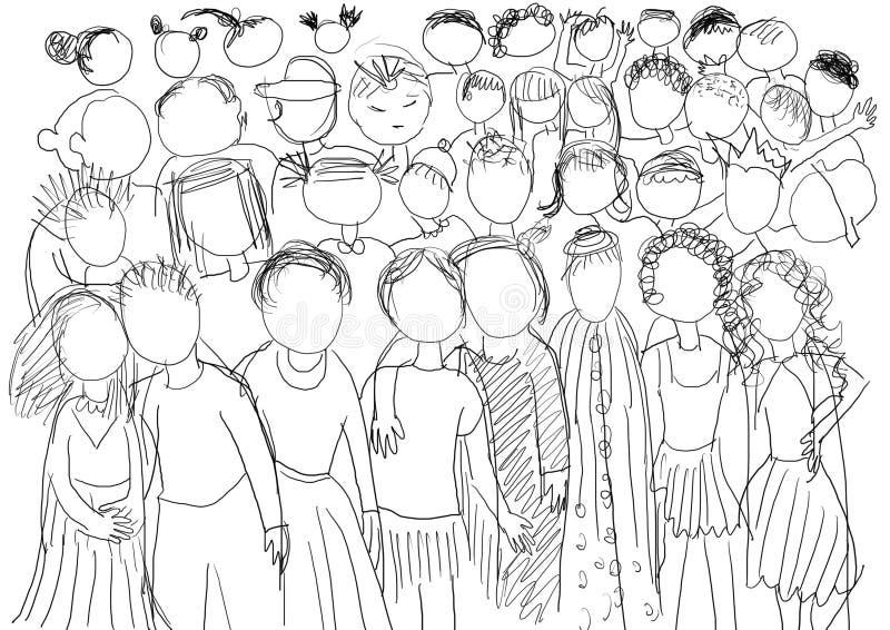 Childrens royalty free illustration