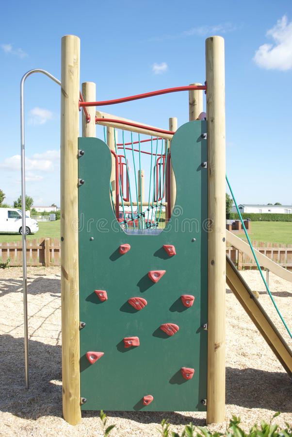 Download Childrens Adventure Playground Wall Climb Royalty Free Stock Photography - Image: 9769787
