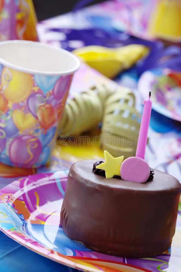 Childrens birthday party royalty free stock photos