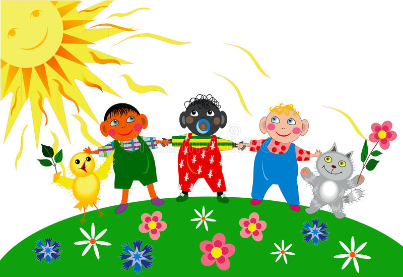Childrens Day royalty free illustration