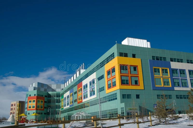 Childrens Hospital royalty free stock photo