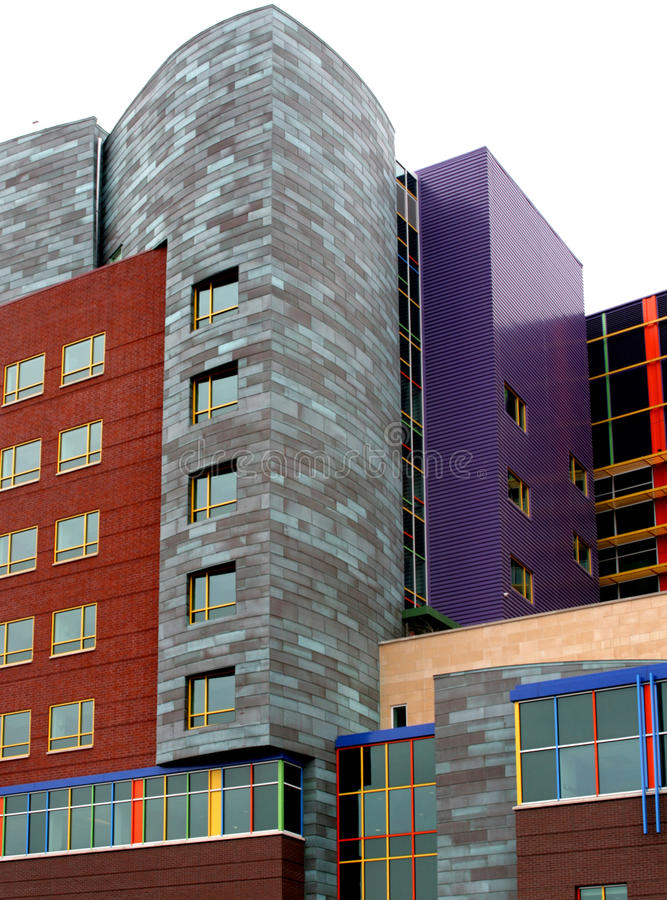 Download Childrens Hospital Pittsburgh Stock Image - Image of brick, steel: 13834653