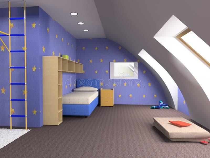 childroom vektor illustrationer