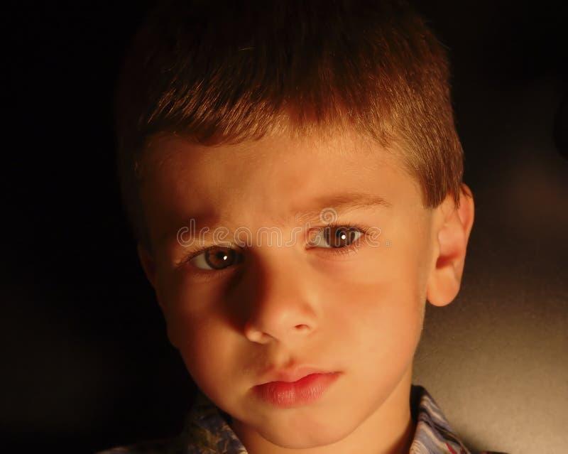 Childs Ausdruck Lizenzfreies Stockbild