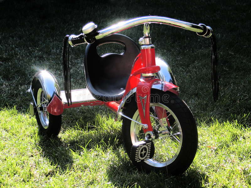 Childs Fahrrad lizenzfreies stockbild