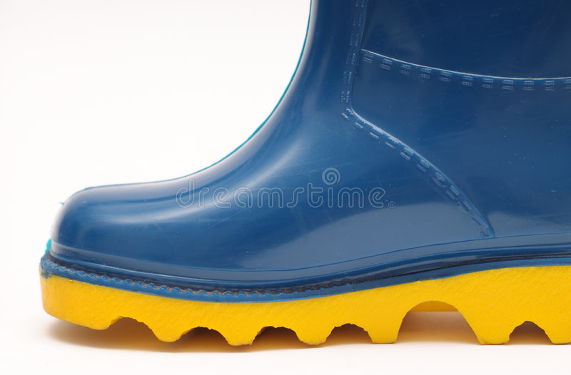 Download Childs rain boots stock photo. Image of blue, cute, foot - 1958830