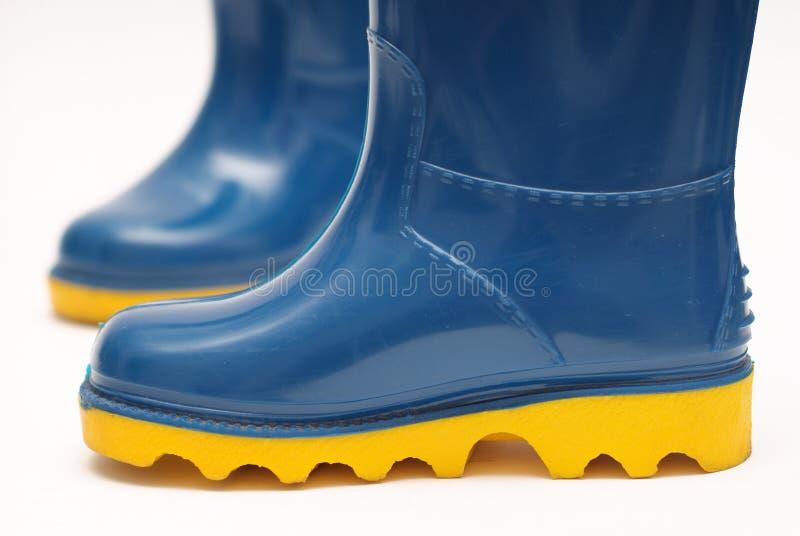 Childs rain boots stock photos