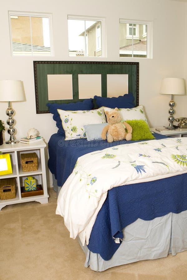 Childs Schlafzimmer lizenzfreie stockfotos