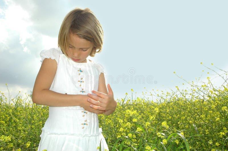 childsförälskelse royaltyfri foto