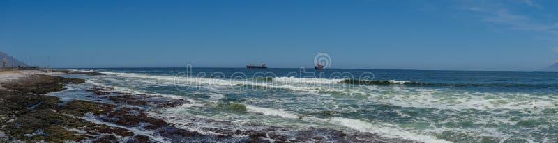 Chile Antofagasta ocean view panorama stock photography