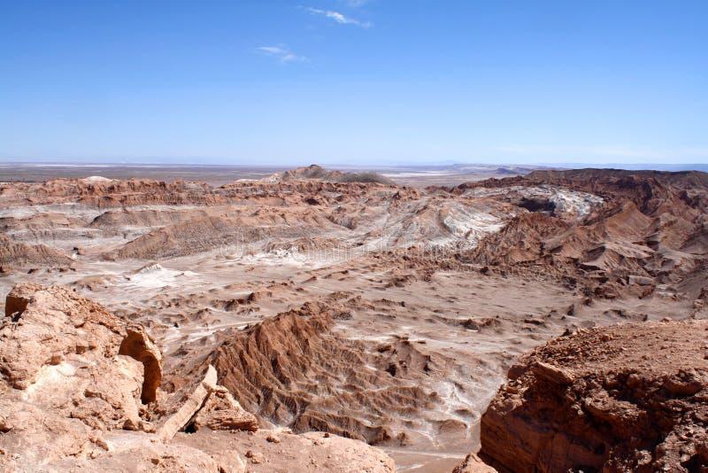 Chile, Atacama pustynia, Śmiertelna dolina & x28; Valle De Los angeles Muerte& X29; zdjęcia stock