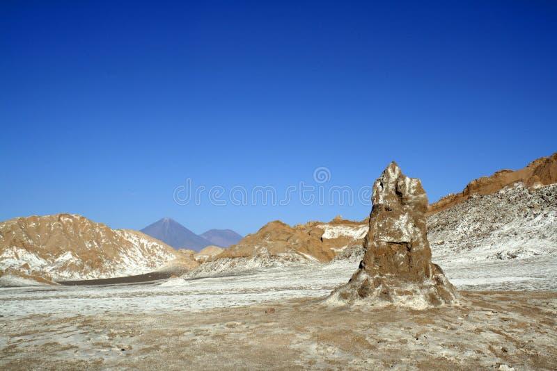 Chile, Atacama-Wüste, Mond-Tal u. x28; Valle de la Luna& X29; lizenzfreies stockbild