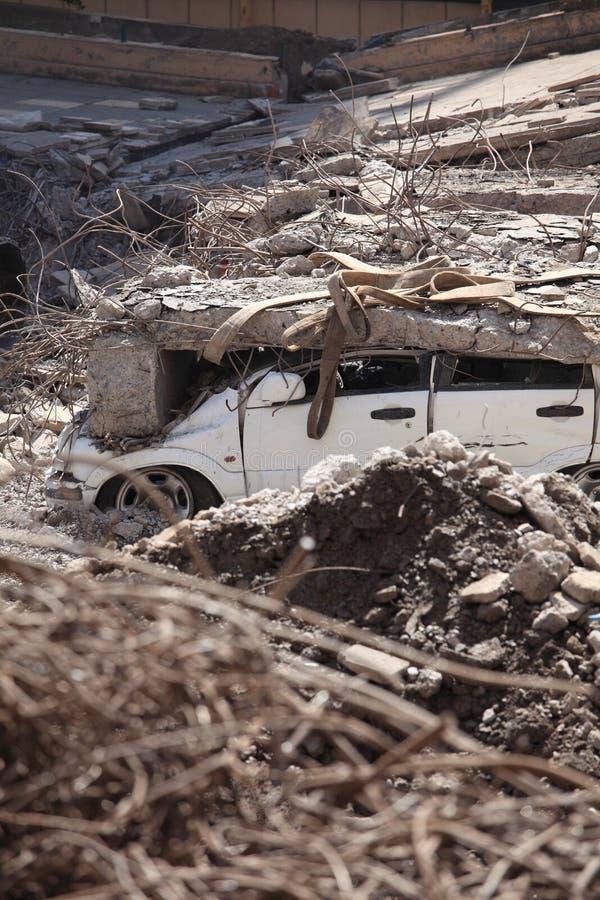Chile-Erdbeben-Schaden stockfotografie