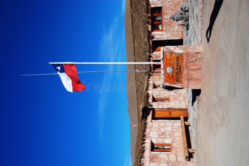 chile flagga royaltyfri bild