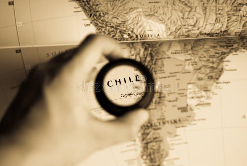 chile mapa obraz royalty free