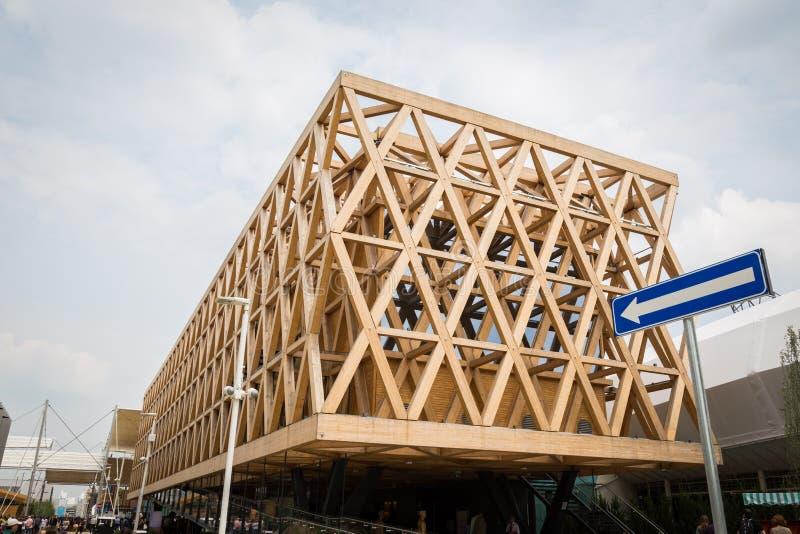 Chile pawilon przy expo 2015 w Mediolan, Włochy obraz stock