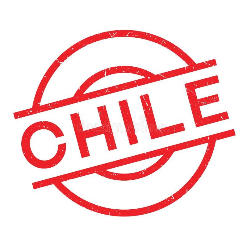 Chile pieczątka ilustracja wektor