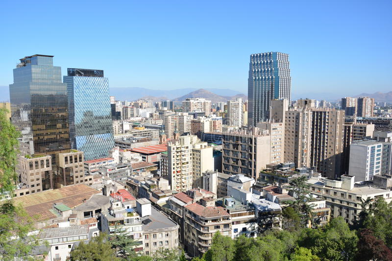 Chile. Santiago de Chile. royalty free stock image