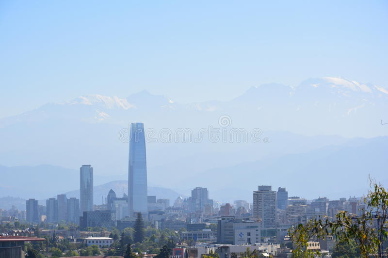 Chile. Santiago de Chile. royalty free stock images