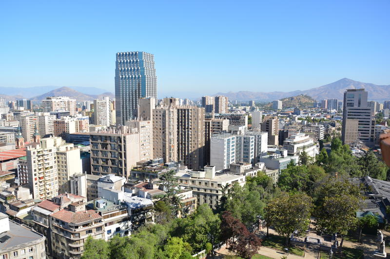 Chile. Santiago de Chile. stock photos