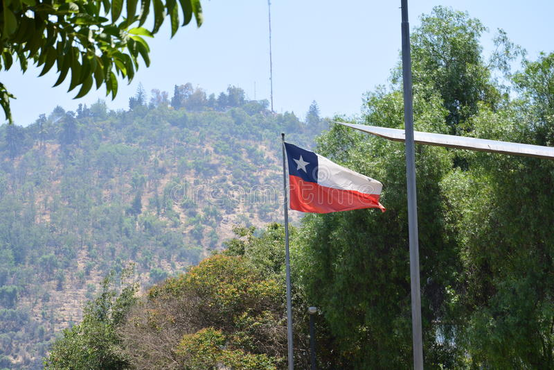 chile Santiago faz o Chile imagens de stock royalty free