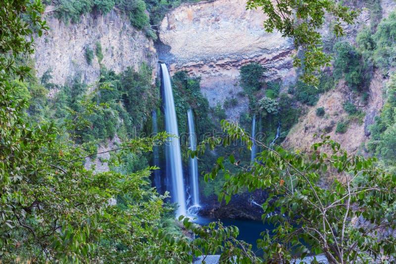 chile vattenfall royaltyfria bilder