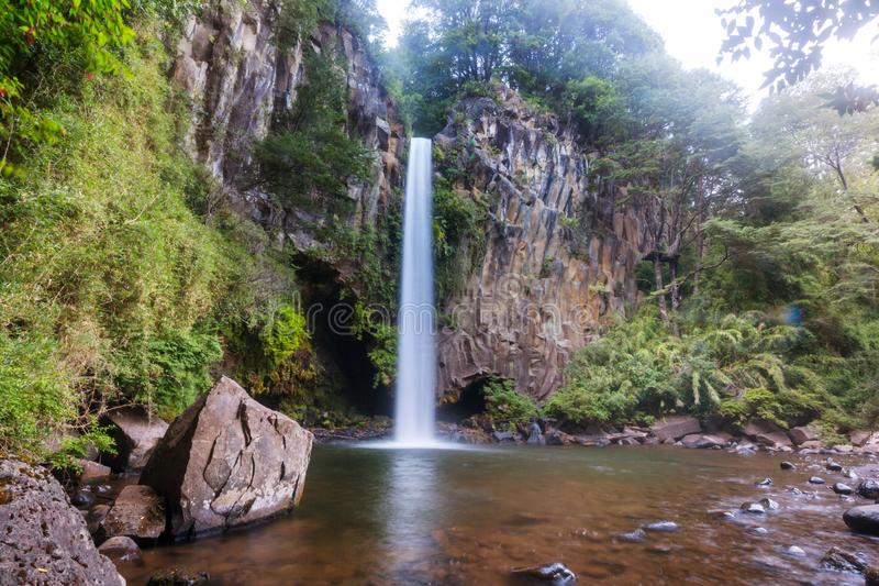 chile vattenfall royaltyfri bild