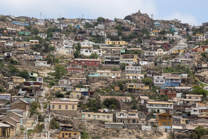 Download Chile - View of Coquimbo stock photo. Image of city, latin - 46309452
