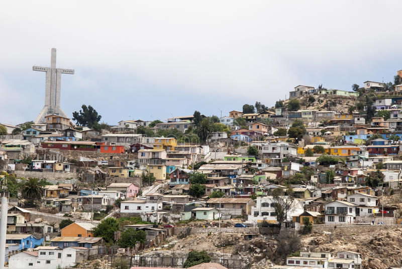 Download Chile - View of Coquimbo stock photo. Image of commune - 46309590