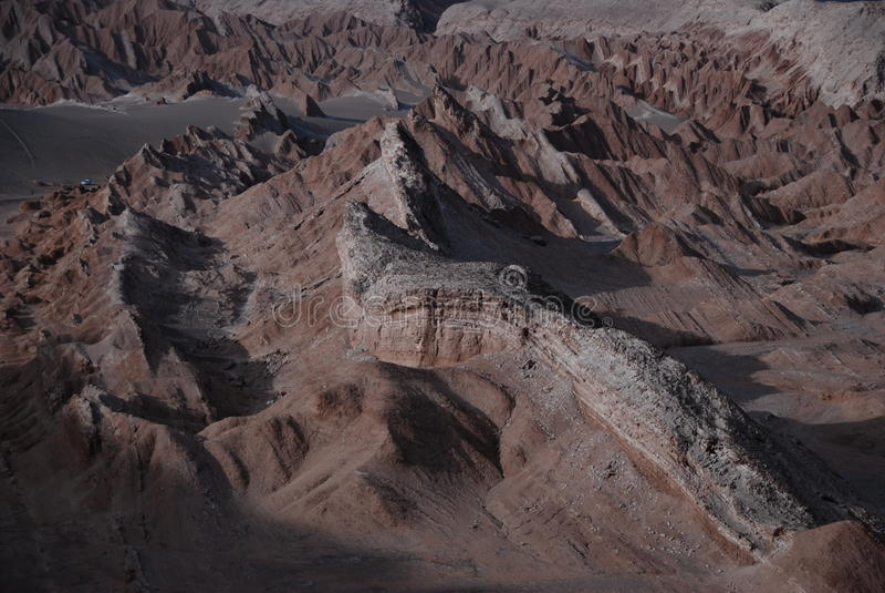 Chilean desert stock image