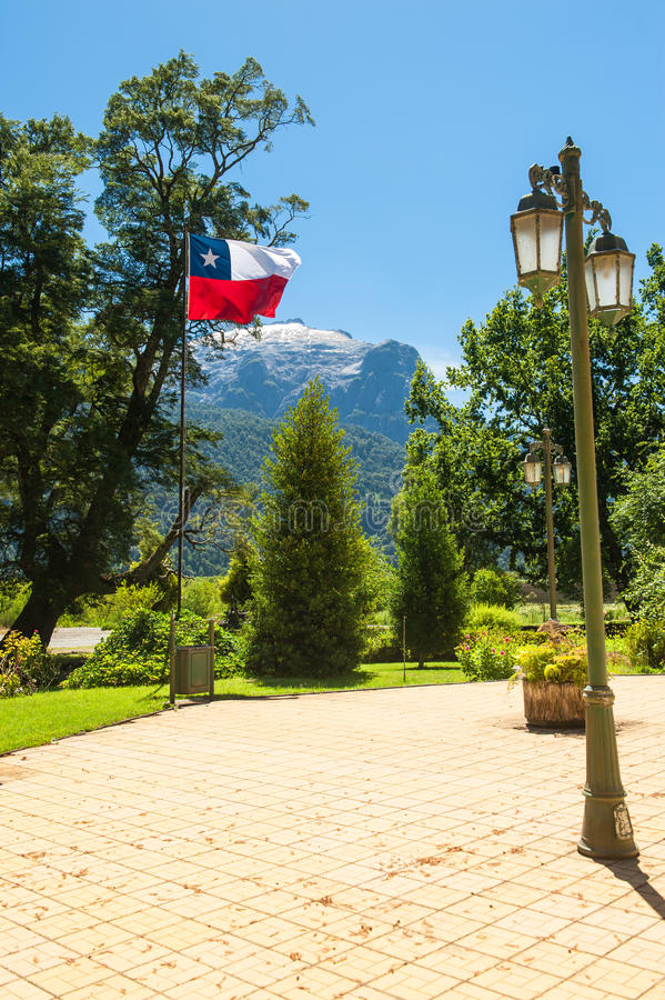 Download Chilean Flag In A Beautiful Square Stock Image - Image: 30803511