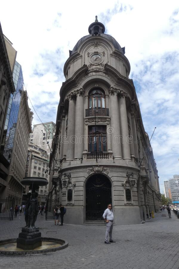 Chilean Stock Exchange stock image