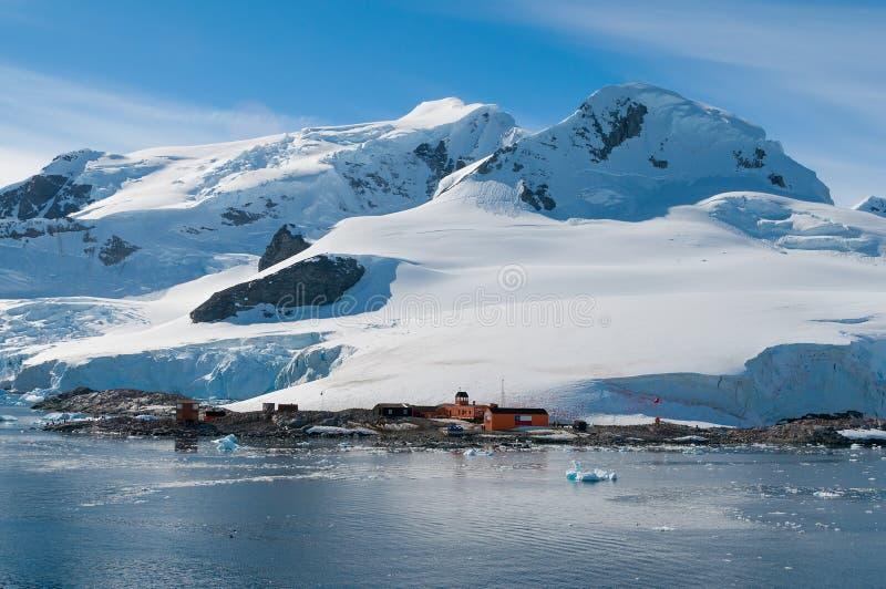 Chileense basis Antarctica royalty-vrije stock afbeelding
