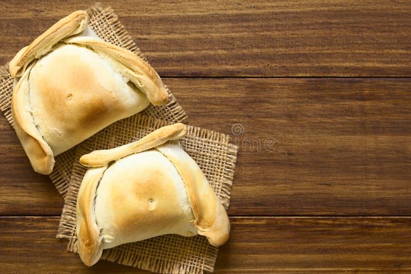 Chileno Empanada foto de archivo libre de regalías