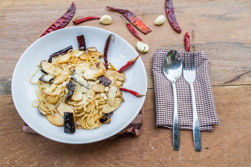 Chili высушенный спагетти стоковое фото rf