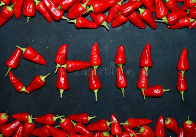 Chili от перцев chili стоковые фотографии rf