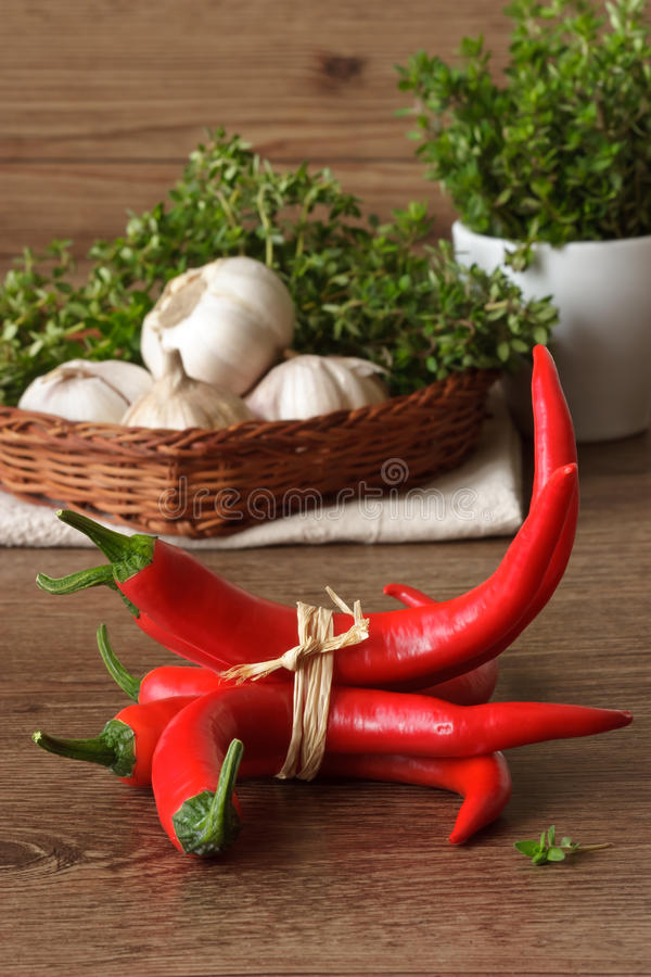 Download Chili. stock photo. Image of freshness, garlic, chilly - 18573258