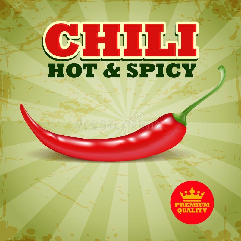Chili ilustracji