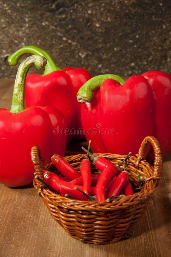 Free Chili And Paprika Royalty Free Stock Image - 17530806
